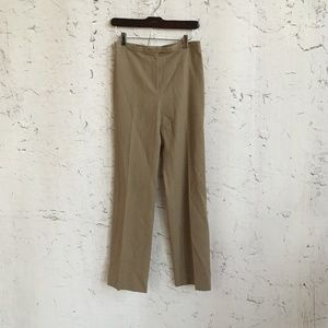 ANN TAYLOR BROWN TROUSERS WOOL 2